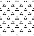 hood pattern vector image vector image