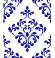 porcelain pattern vector image vector image