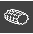 Smoked Ham vector image