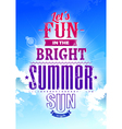 Summer typography vector | Price: 1 Credit (USD $1)