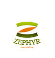 Zephyr marshmallow letter z icon