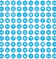 100 economy icons vector image vector image
