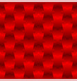 3d jigsaw tile seamless pattern red 001 vector image vector image