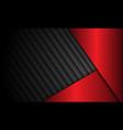 abstract red metallic dark shutter pattern vector image vector image