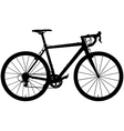 Cyclocross bicycle vector image