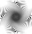 Design trellis interlaced spiral background vector image vector image