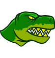 Dinosaurus Head Side View vector image