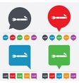 Smoking sign icon E-Cigarette symbol vector image vector image