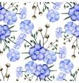 Watercolor linen pattern vector image vector image