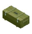 ammo box icon isometric icon
