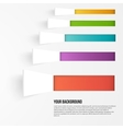 background squares Set web design vector image
