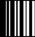 black white seamless pattern vector image