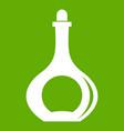 carafe icon green vector image vector image