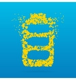 Creative dot icon vector image vector image