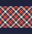 check fabric texture diagonal lines seamless vector image vector image