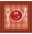 dining and meals vector image vector image