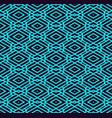 geometric simple luxury blue minimalistic pattern vector image