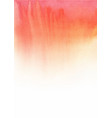 red watercolor hand painting background vector image vector image