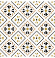 tile pattern seamless design vector image vector image