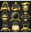 Decorative Golden Frame vector image