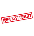 100 percent best quality rubber stamp vector image vector image