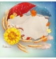 autumn abstract background eps 10