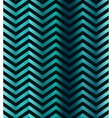 Dark turquoise gradient chevron seamless pattern vector image vector image