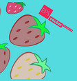 fruits pattern fruits seamless background vector image vector image