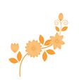 Hand drawing florals vector image vector image