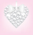 Pearl heart vector | Price: 1 Credit (USD $1)
