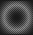 retro abstract halftone dot background pattern vector image vector image