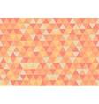 retro triangle pattern apricot