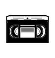 video cassette tape icon image vector image vector image