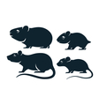 rodents icons vector image