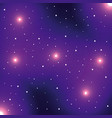 universe flat vector image