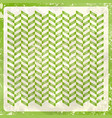 abstract retro background in greenery vector image