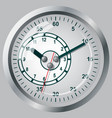 clock flat icon world time concept vector image vector image