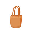 cloth shopping bag for vector image vector image