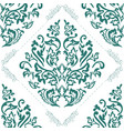 damask seamless pattern element classical damask vector image vector image