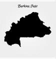 map burkina faso vector image