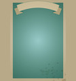 retro poster background old and stained paper vector image