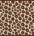 safari pattern background leopard jaguar print vector image