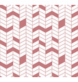 seamless chevron pattern in brown luxury color vector image