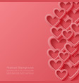 Abstract valentine background