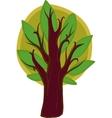 Big cartoon Tree Isolated vector image vector image