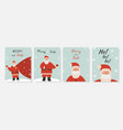 collection merry christmas and happy new vector image vector image