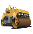detailed ial image of light-brown double roller is vector image