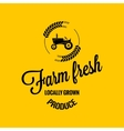 farm fresh design background vector image vector image