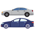 automobiles set cars vehicles city vector image vector image