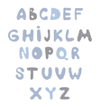 Funny kids colorful alphabet